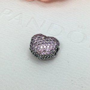 Pandora Purple Heart charm